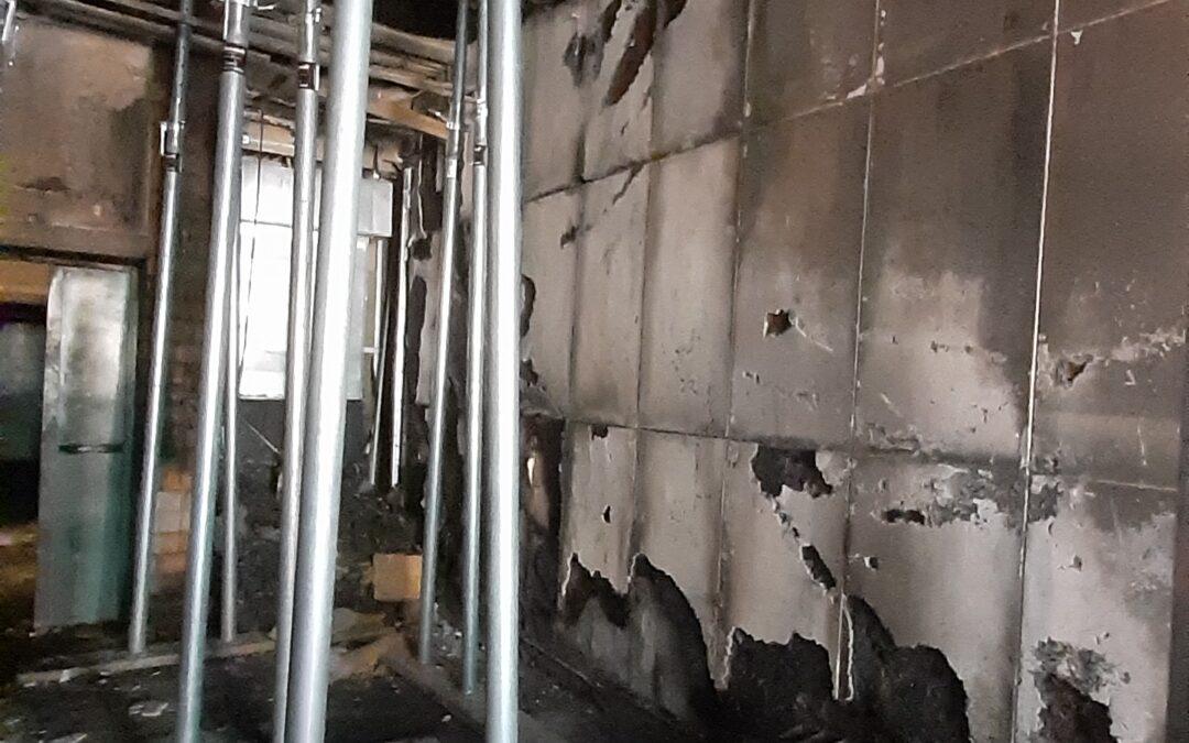 Ci stiamo occupando dell'accertamento dei danni avvenuti all'interno di alcuni locali del Politecnico di Torino