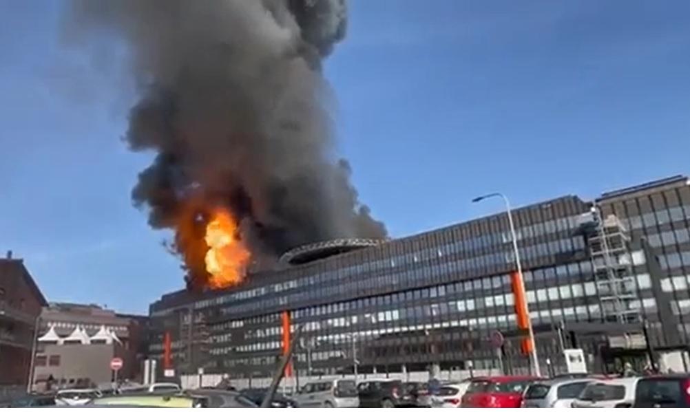 Anche il nostro studio è coinvolto nei complessi accertamenti di un grave incendio che ha interessato una palazzina uffici in Torino